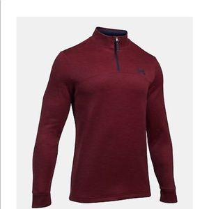 Men's Under Armour Pullover with partial zip